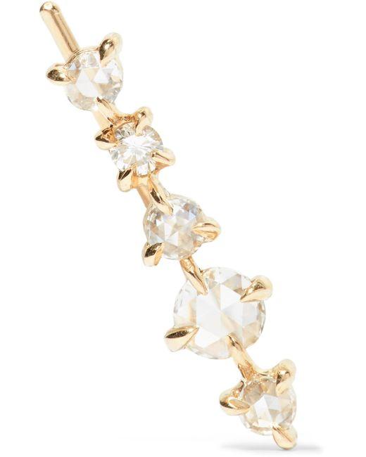 Catbird - Metallic Snow Queen 14-karat Gold Diamond Earring - Lyst