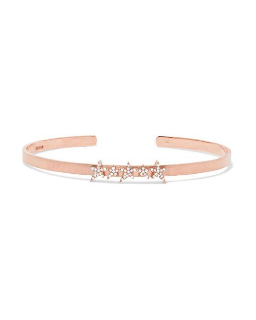 Diane Kordas | Multicolor Cosmos 18-karat Rose Gold Diamond Bracelet | Lyst