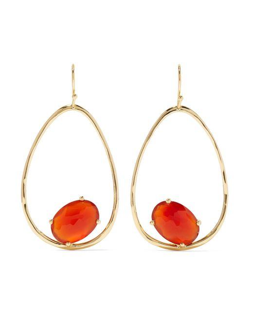 Ippolita - Metallic Rock Candy 18-karat Gold Carnelian Earrings - Lyst