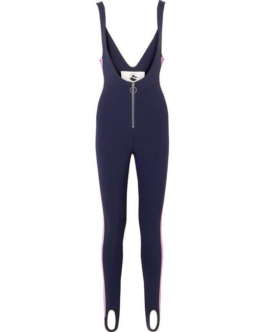 CORDOVA - Blue The Vail Striped Stirrup Stretch Ski Suit - Lyst