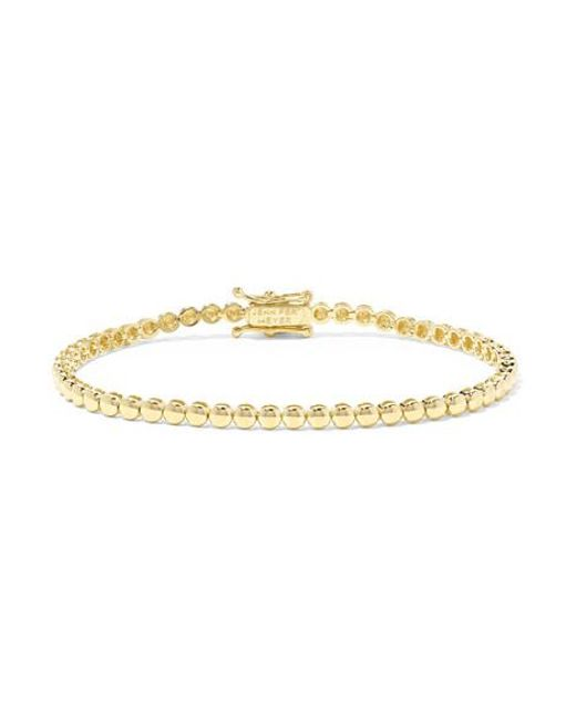 Jennifer Meyer Metallic 18-karat Gold Bracelet