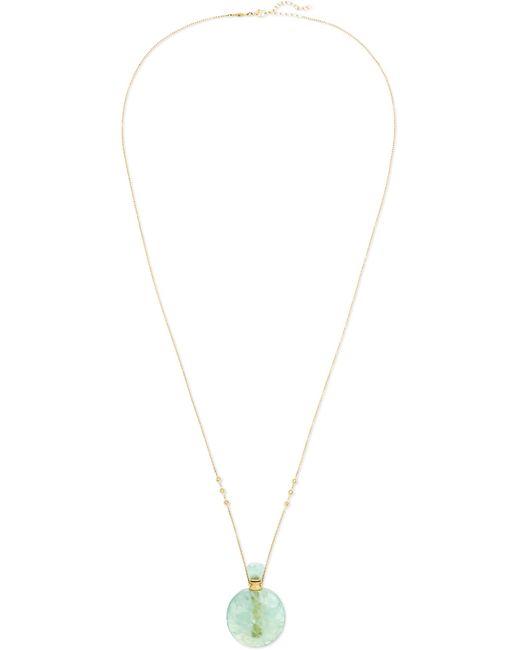 Jacquie Aiche - Metallic 14-karat Gold, Fluorite And Diamond Necklace - Lyst