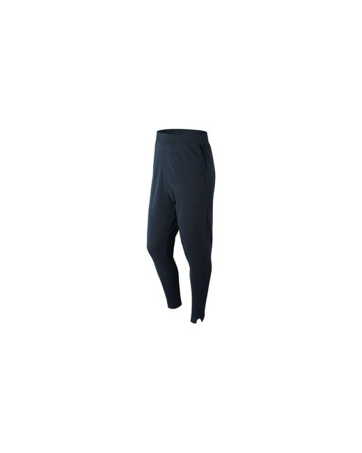 New Balance - Blue 247 Luxe Knit Pant for Men - Lyst