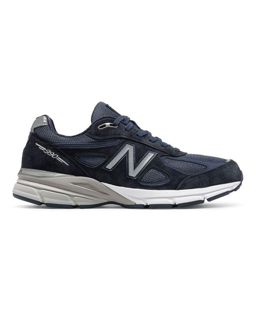 New Balance - Blue 990v4 Made In Us for Men - Lyst