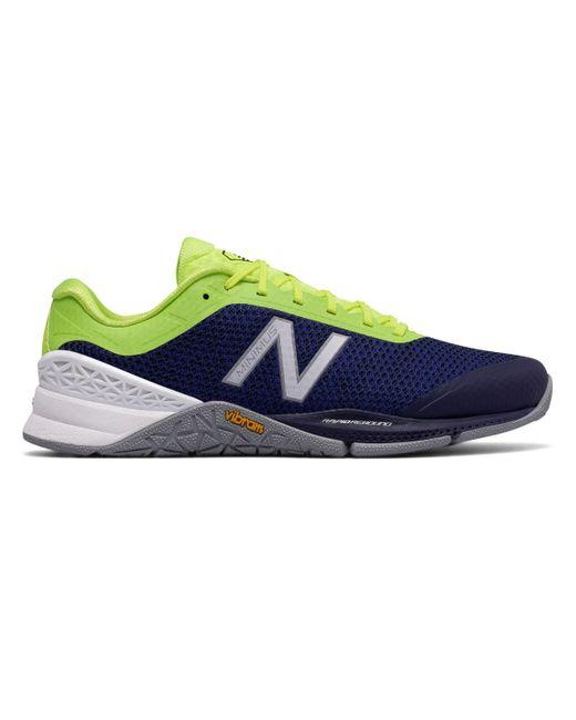 New Balance - Blue Minimus 40 Trainer for Men - Lyst