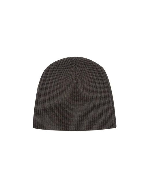Nicole Farhi | Gray The Paley Rib Beanie for Men | Lyst