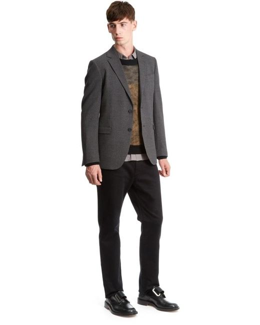 Nicole Farhi | Gray Abstract Birdseye Blazer for Men | Lyst