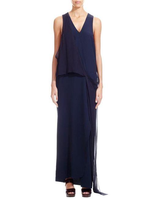 Nicole Farhi   Blue The Castillo Dress   Lyst