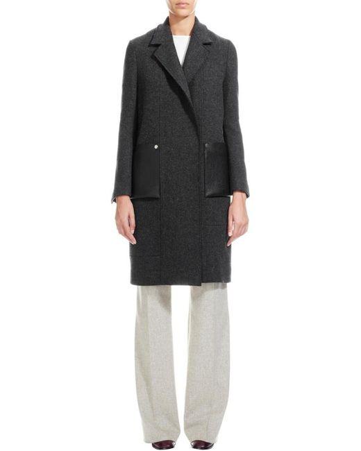 Nicole Farhi   Gray The Fourting Coat   Lyst