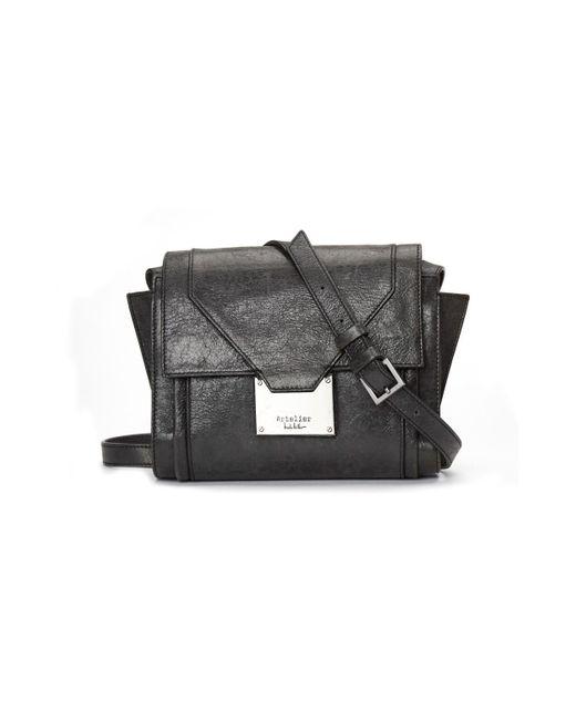 Nicole Miller | Black Prima Crossbody Bag | Lyst