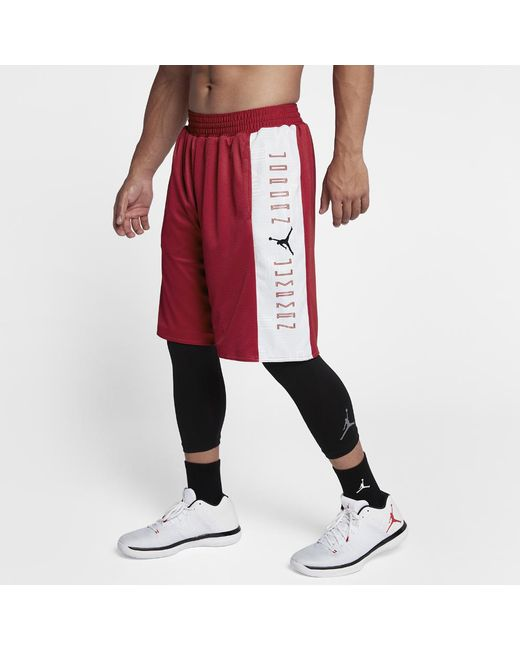Nike - Red Air 11 Reversible Men's Basketball Shorts, By Nike for Men - Lyst