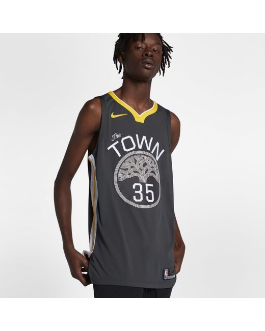 Nike - Black Kevin Durant Statement Edition Authentic (golden State Warriors)  Nba Connected Jersey a8bb72af8
