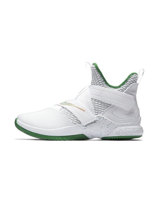 ed13949bd92 Lyst - Nike Lebron Soldier Xii Svsm Basketball Shoe in White for Men