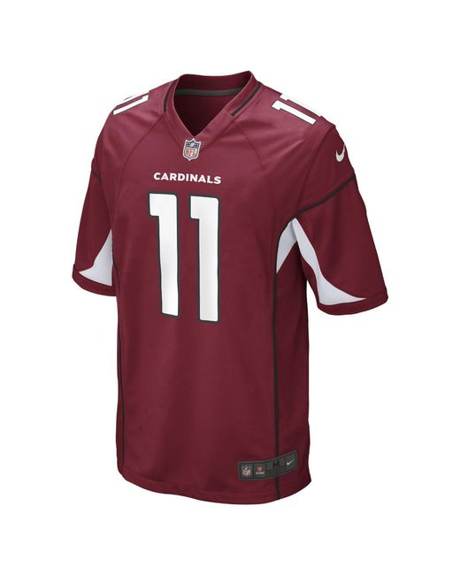Nike - Red Nfl Arizona Cardinals (larry Fitzgerald) American Football Game Jersey for Men - Lyst