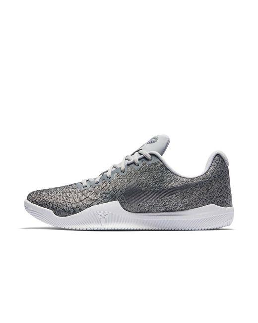 Nike Kobe Mamba Instinct Men's Basketball Shoe in Gray for