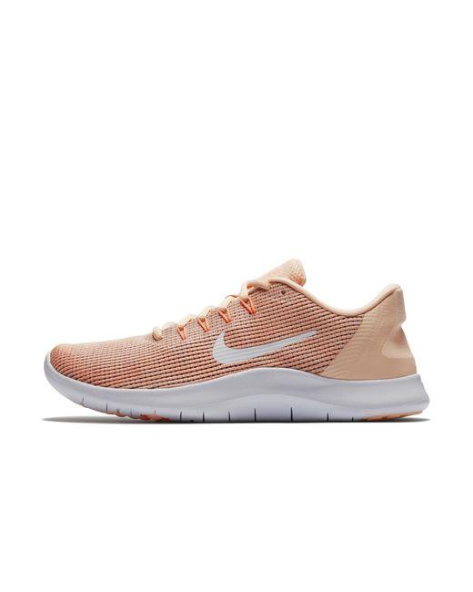 d12c05d17cb Lyst - Nike Flex Rn 2018 Women s Running Shoe in Pink
