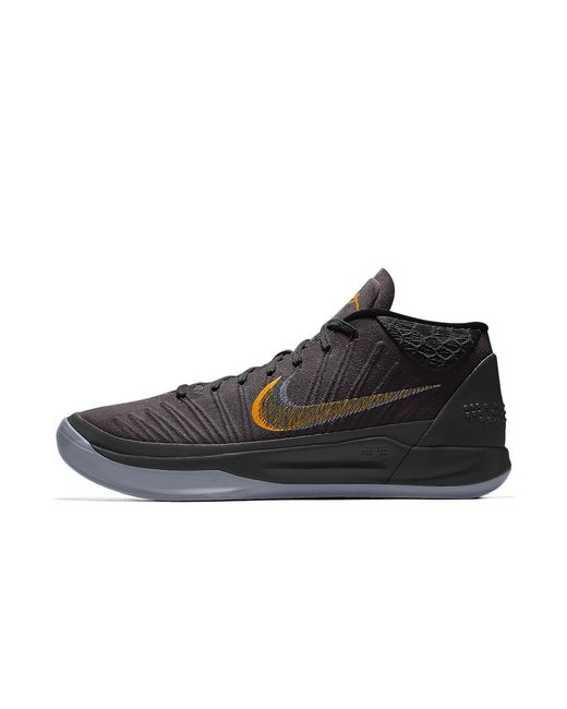 brand new 167ac 7bd67 ... coupon code for nike black kobe ad id mens basketball shoe for men lyst  4160c ecc3e