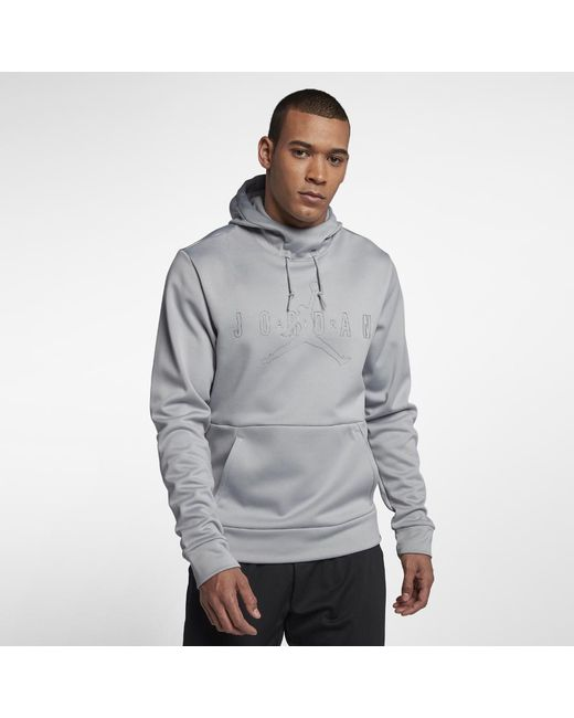 a07f66802f8839 Lyst - Nike 23 Alpha Men s Pullover Training Hoodie