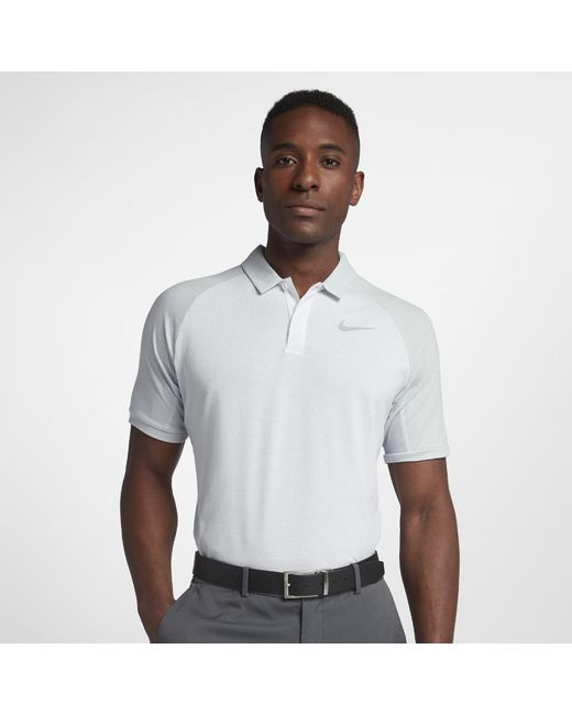 fc449333 Lyst - Nike Dri-fit Standard Fit Golf Polo in White for Men