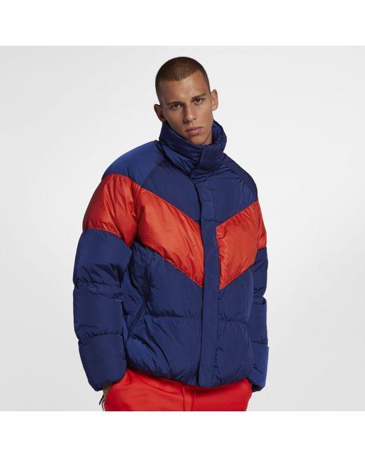 3dbf84c9e34a Nike Sportswear Down Fill Jacket in Blue for Men - Lyst