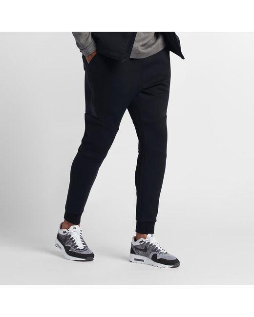 34c20e96f50c Lyst - Nike Sportswear Tech Fleece Men s Joggers in Black for Men