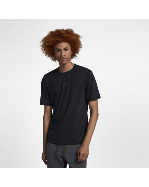 4b02f4732 Nike Sportswear Tech Pack Short-sleeve Top in Black for Men - Lyst