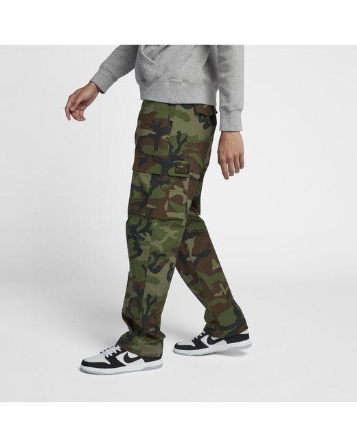 91ba4bf2b3eb Lyst - Nike Sb Flex Men s Pants in Green for Men