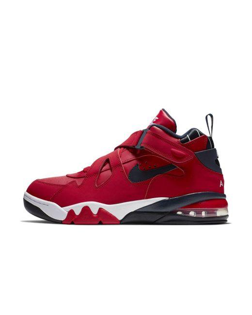 Men\u0027s Red Air Force Max Cb Shoe