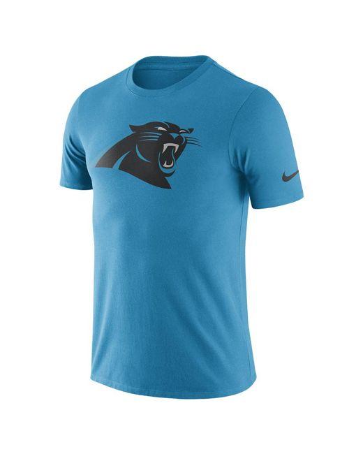 Nike - Blue Essential Logo (nfl Panthers) Men's T-shirt for Men - Lyst