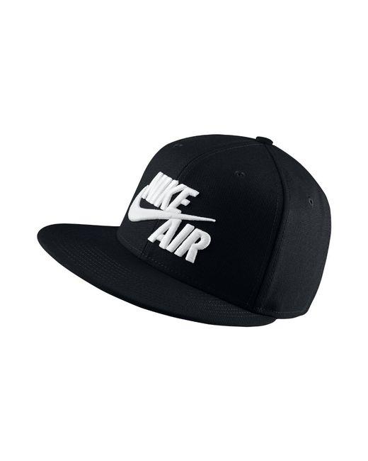 3642d20d68c Lyst - Nike Sportswear Air True Snapback Hat (black) in Black for Men