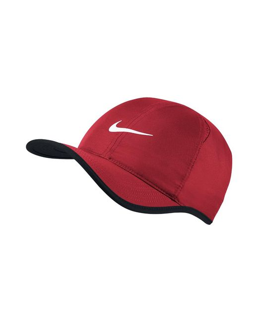 2dd41376e165 Lyst - Nike Featherlight Adjustable Tennis Hat (red) in Red for Men
