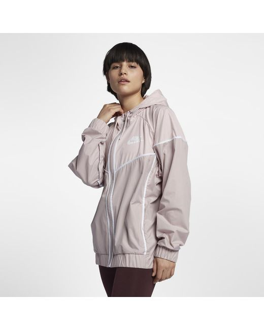 7cc552c16 ... Women s Nike Sportswear Windrunner Full Zip Jacket; Nike - Multicolor Sportswear  Windrunner (plus - Lyst ...