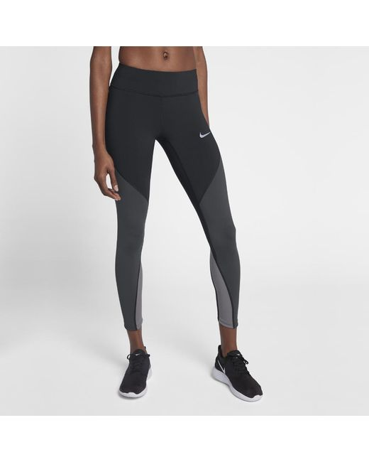 Lyst - Nike Epic Lux Women s Running Tights in Black 4a69546f9c