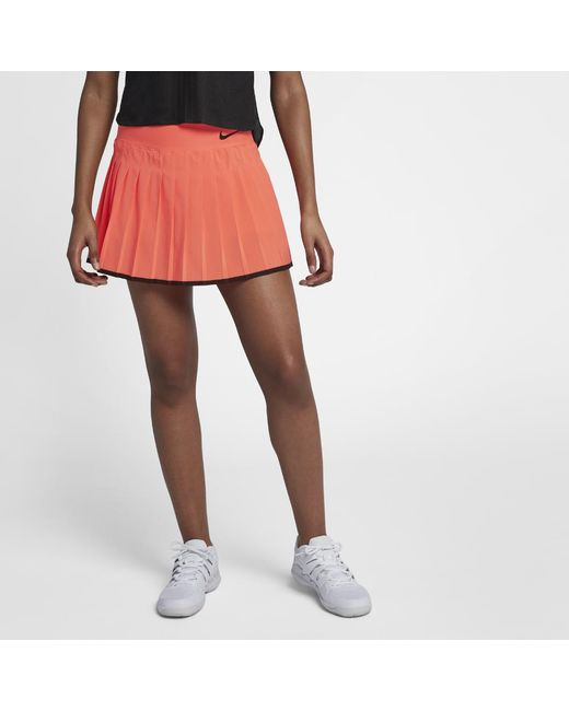 low priced 42646 9d30a Nike - Multicolor Court Victory Women s Tennis Skirt - Lyst