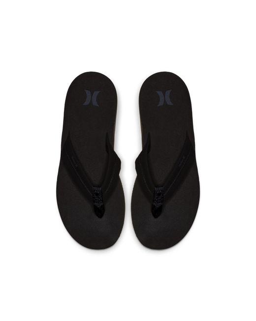 official photos a6947 8c1f8 Nike - Black Hurley Lunar Sandals for Men - Lyst ...