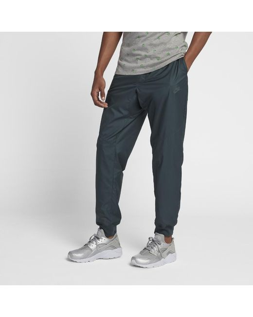 reputable site a3728 f3eb1 Pants Men Nike Lyst Blue Windrunner Sportswear For Men s In qIaTUzB6w