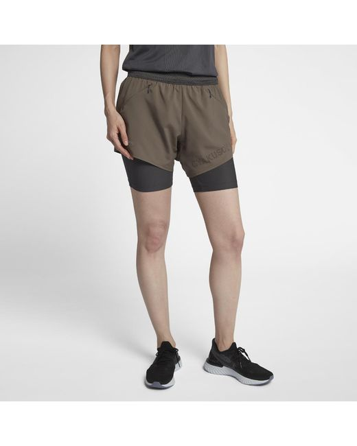 Nike - Multicolor Gyakusou Women s Shorts - Lyst 24126cff04