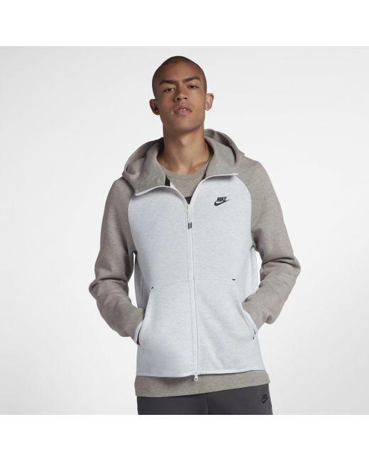 4a9dc9e89c4e Nike Sportswear Tech Fleece Full-zip Hoodie in Gray for Men - Lyst