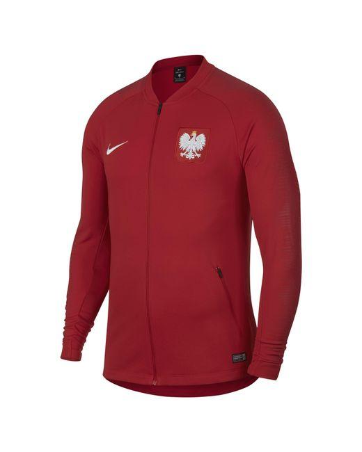 e8ea12b0b Nike - Red Poland Anthem Football Jacket for Men - Lyst ...