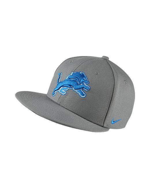 Lyst - Nike Energy Xc True (nfl Lions) Adjustable Hat (grey) in Gray ... 088211395