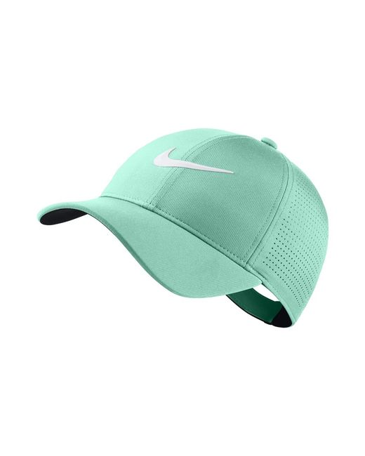 Nike - Aerobill Legacy 91 Adjustable Golf Hat (green) - Clearance Sale for  Men 338feda5eb34