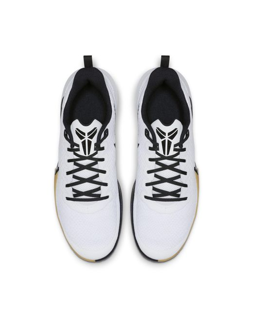 official photos 5efab 99076 ... Nike - White Mamba Focus Basketball Shoe for Men - Lyst ...