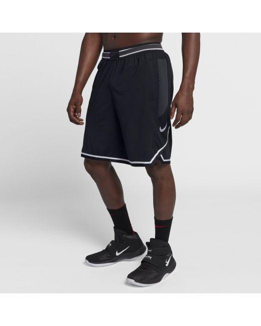 45d4178143ed Nike Vaporknit Basketball Shorts In Black For Men Lyst