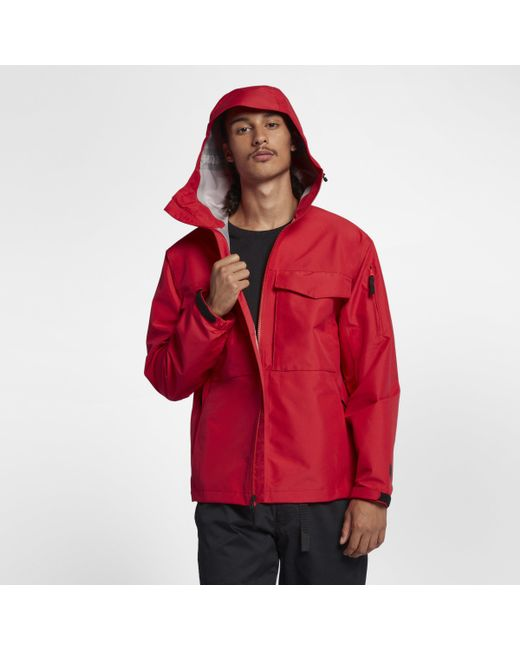 Nike Lab Collection Wet Reveal Jacket in Red for Men - Lyst 3a7787ce5