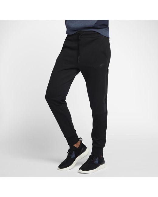 Lyst - Nike Tech Fleece Women s Pants in Black bda7b53bb5