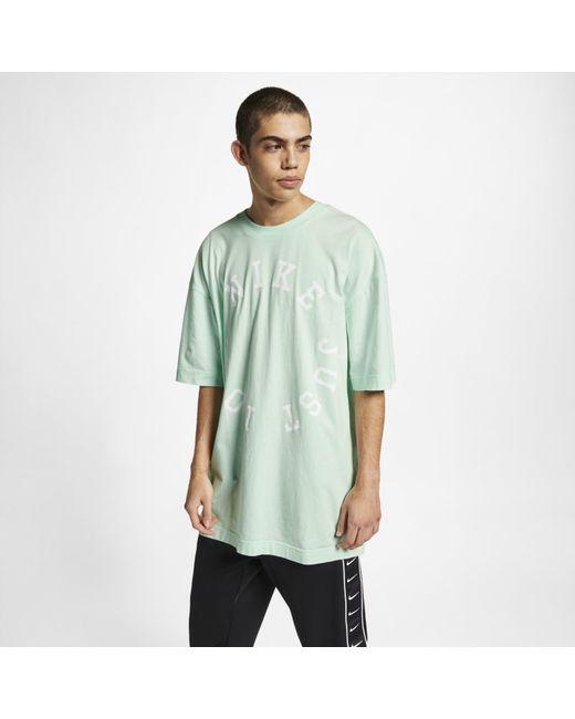 cba10f781 Nike - Green Sportswear Short-sleeve Top for Men - Lyst ...