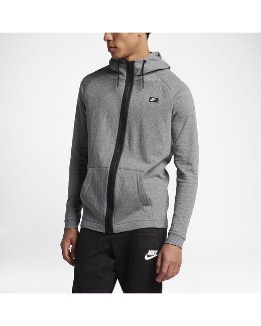 99cdc8fcbfbc Lyst - Nike Sportswear Modern Men s Hoodie in Black for Men