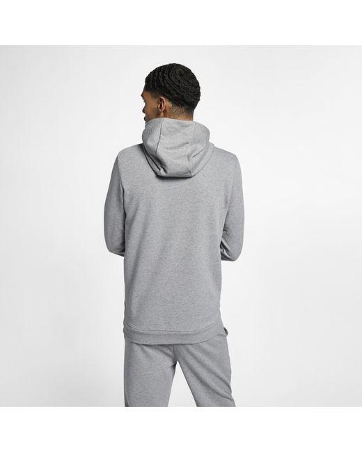 b85eaa136dd0d3 ... Nike - Gray Jordan Jumpman Air Lightweight Fleece Sweatshirt for Men -  Lyst ...