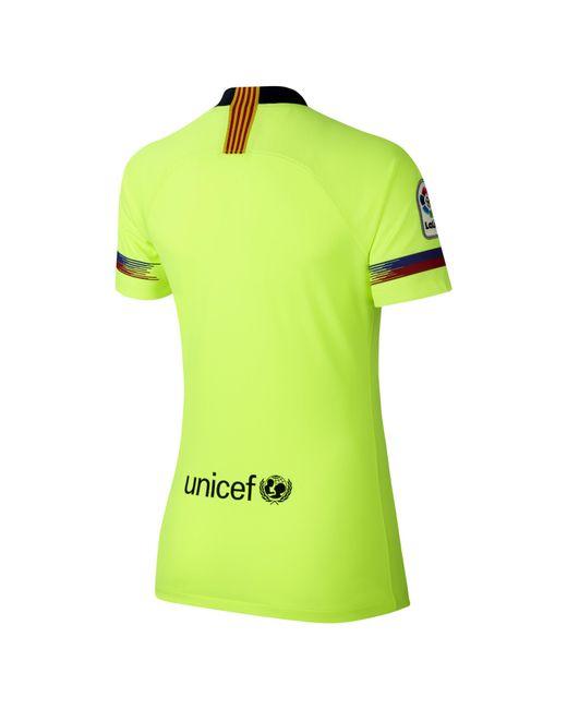b7052087 ... Nike - Yellow 2018/19 Fc Barcelona Stadium Away Football Shirt - Lyst  ...