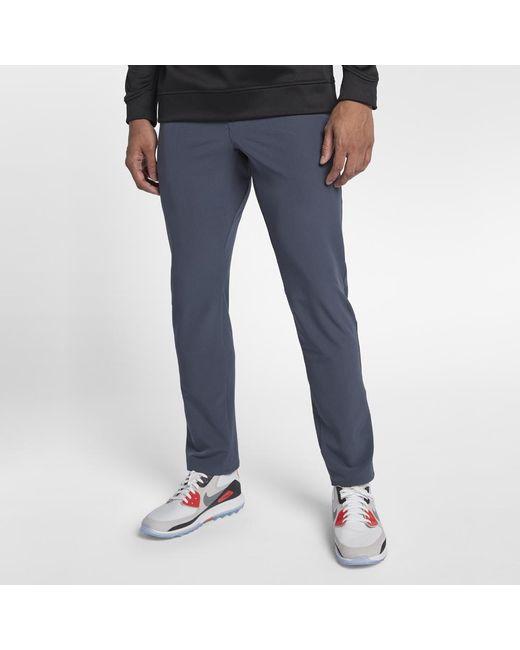 62e6cb1f8af6 Lyst - Nike Flex Men s Slim Fit Golf Pants in Blue for Men